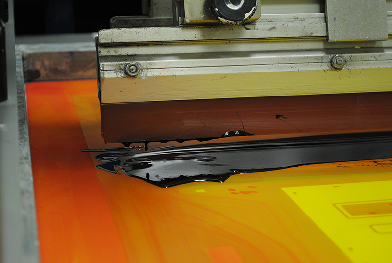 Xymox Screen Printing Machine