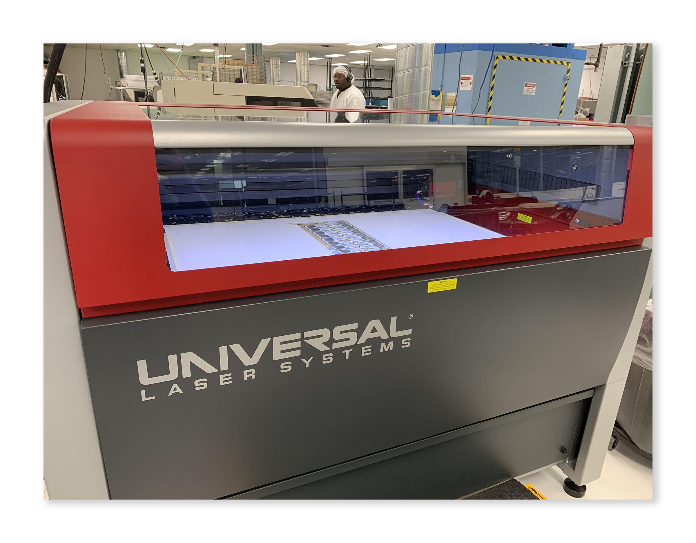 Xymox Universal Laser XLS