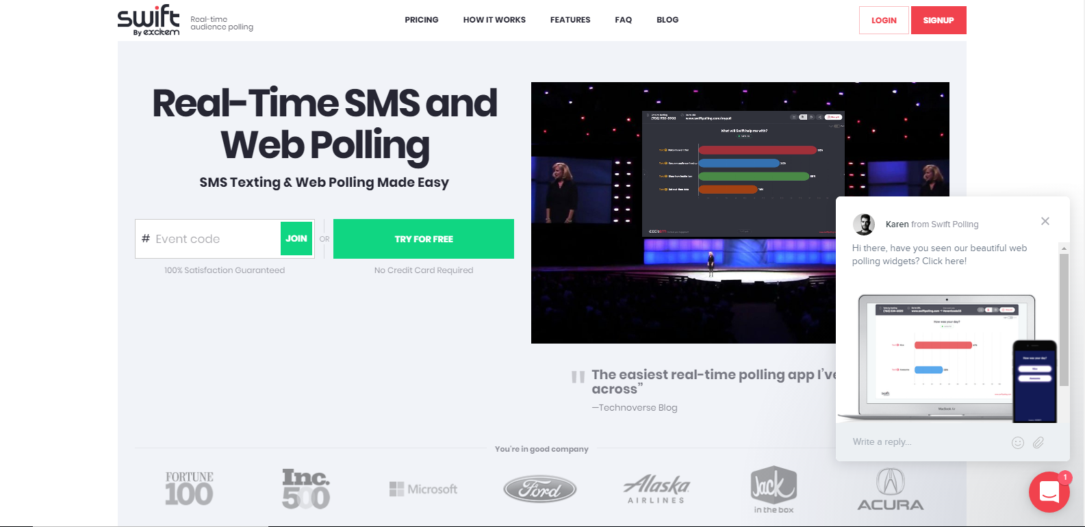 swift-polling-influence