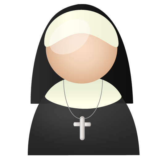 Nun-icon