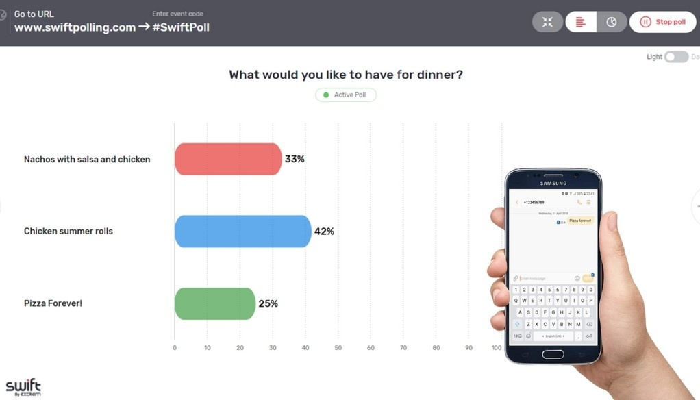 Live polling apps