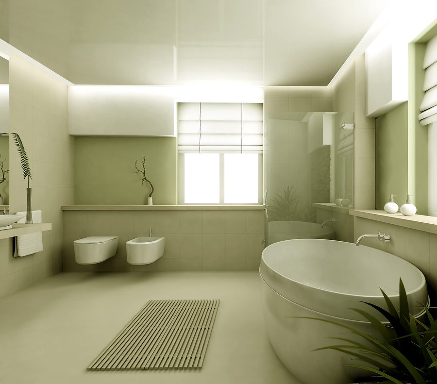 Make These Popular Additions for a Modern, High-tech Master Bathroom
