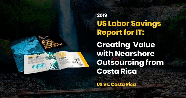 Auxis Publishes the Results of its 2019 IT Outsourcing Report Highlighting Labor Savings as High as 50% from Nearshoring IT Positions from US to Costa Rica