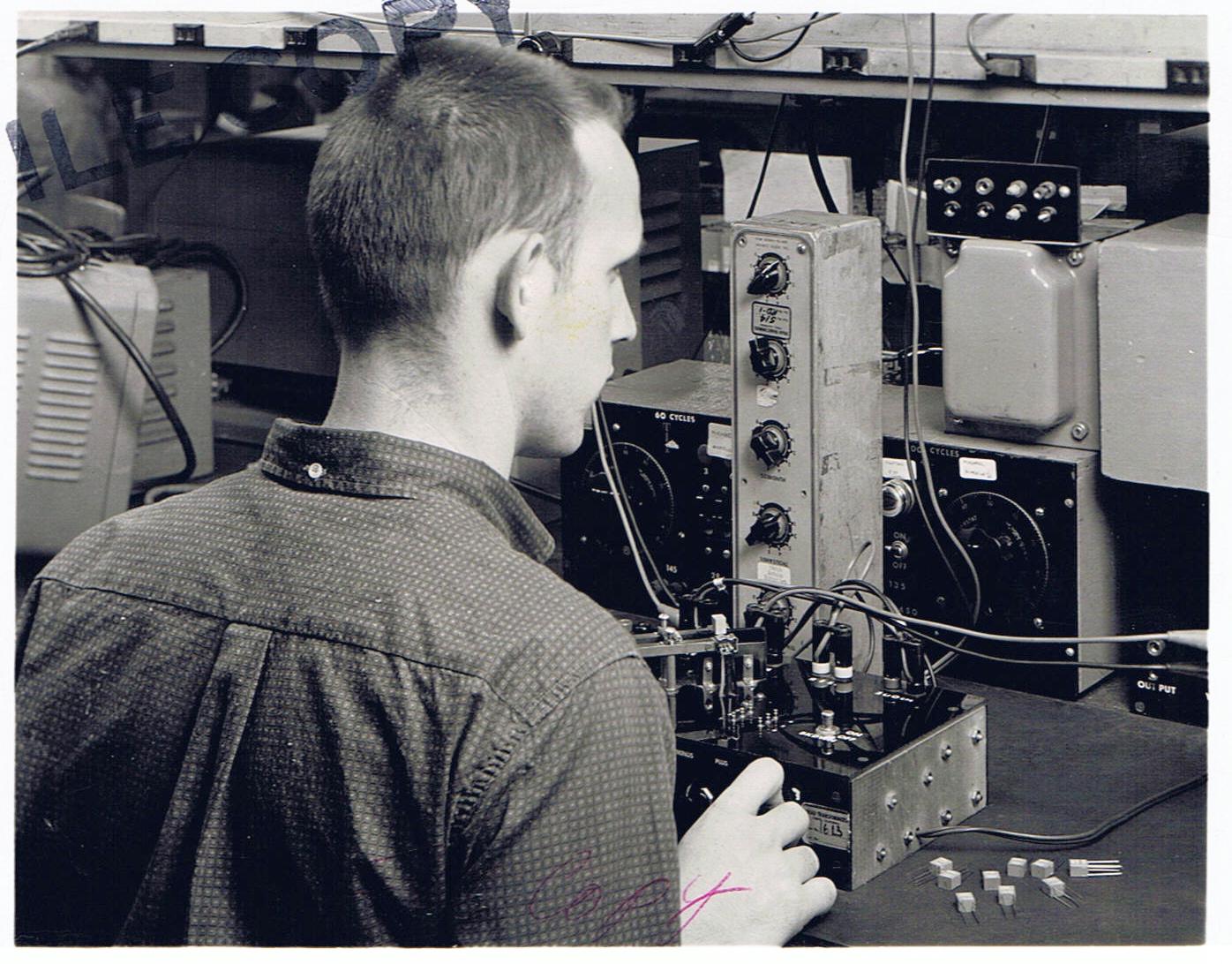JT in Triad test Lab 1965