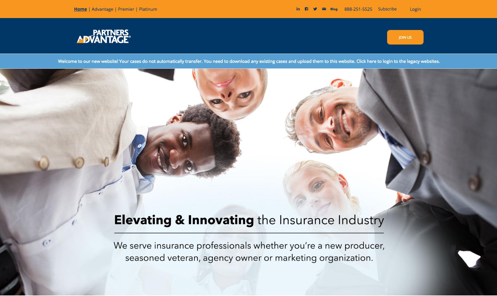 New Partners Advantage Website
