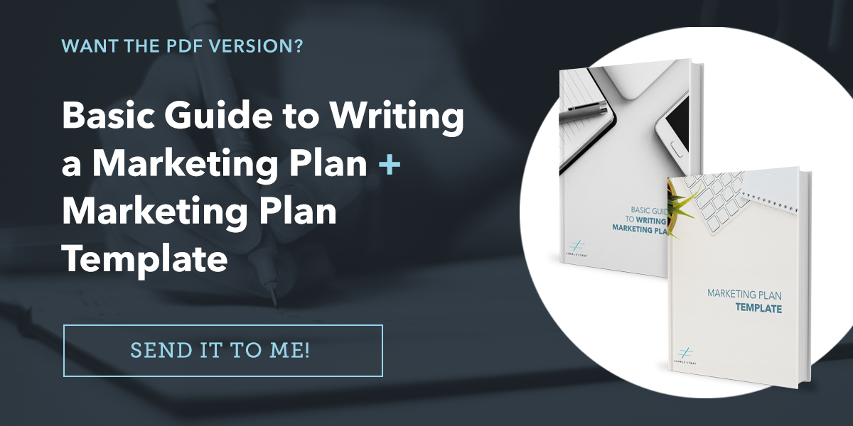 How to Write a Marketing Plan - Template Included
