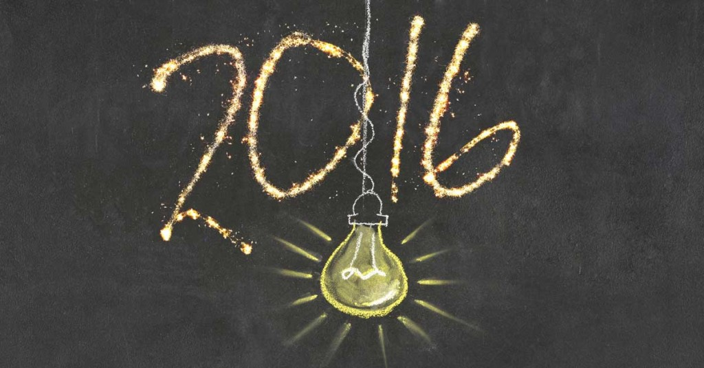 2016 New Years Resolutions