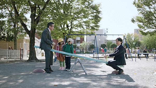 テレキューブ「公園1on1」篇