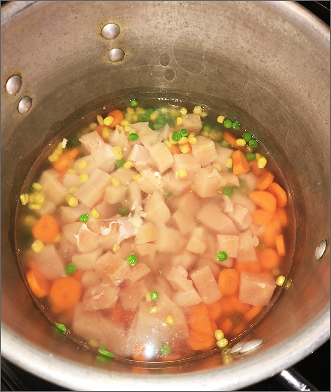 Chicken-Peas-Corn-and-Carrots-in-Water