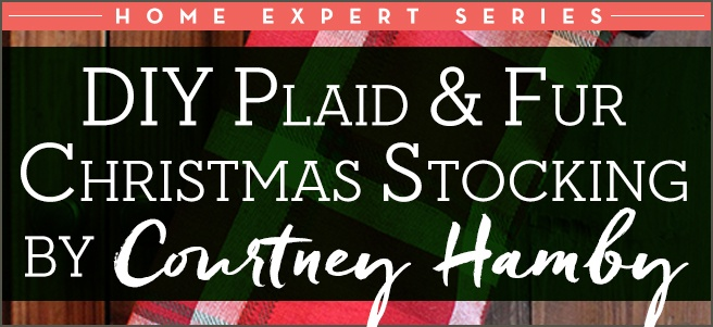 Diy-Plaid-and-Fur-Christmas-Stocking-Title