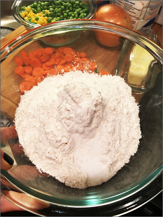 Flour-and-Salt-for-Pie-Crust