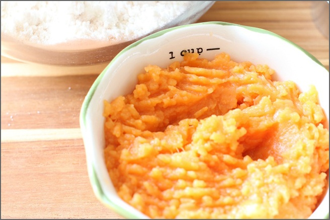 Mashed-sweet-potato