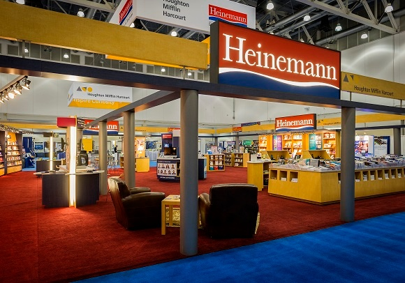 Can you find all the Heinemann logos in this photograph?