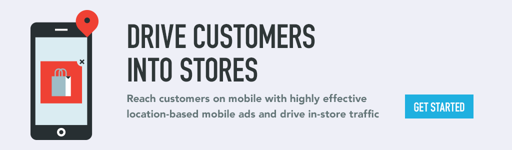 Drive customers into stores
