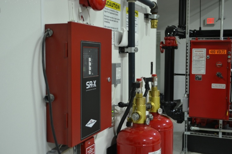 Common Fire Suppression Clean Agents Inert 3m Novec 1230 Fire Protection Fluid And Fm 200