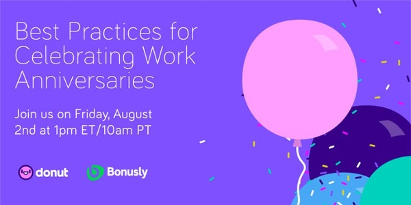 Best Practices for Celebrating Work Anniversaries