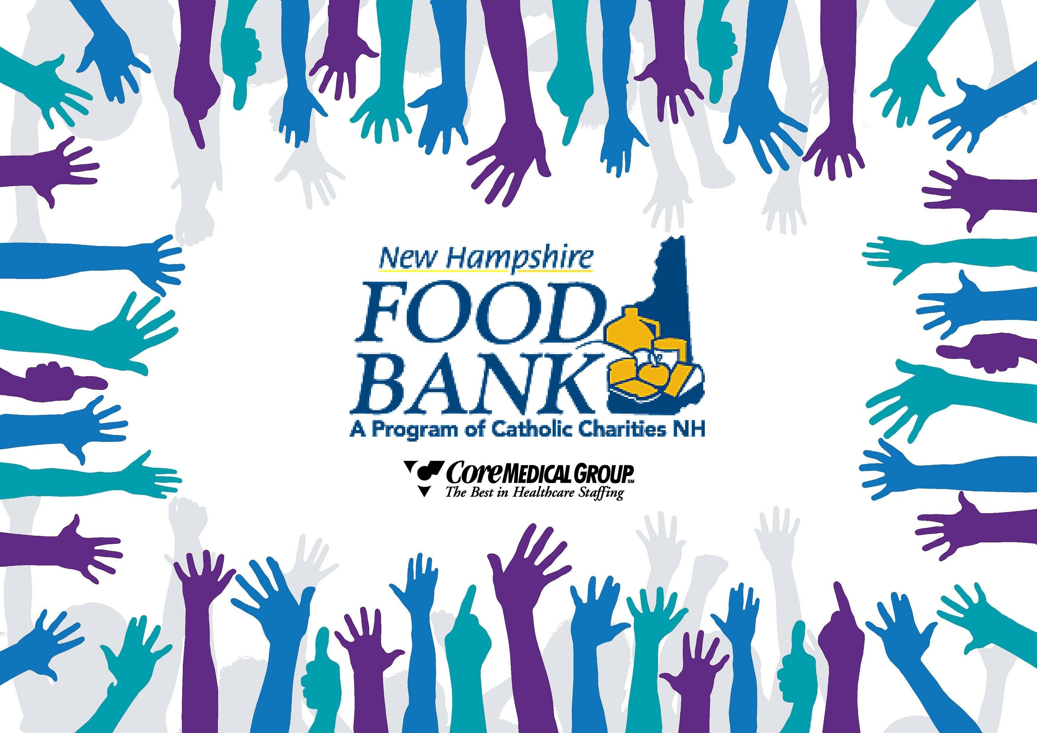 CoreMedical Supports NH Food Bank