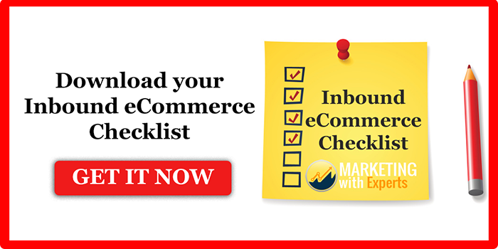 Download inbound eCommerce checklist