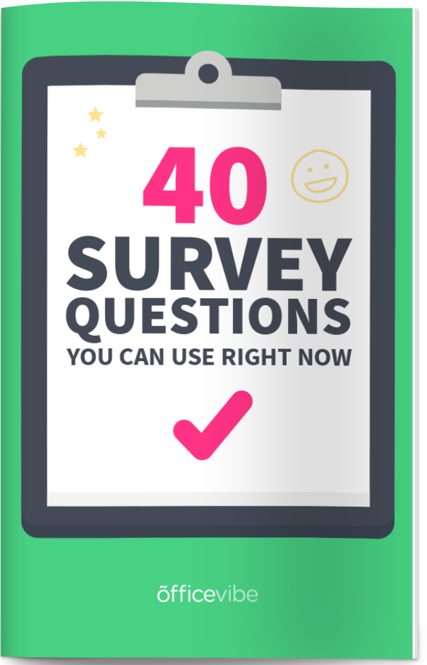 Employee Engagement Survey The Complete Guide – Employee Engagement Survey Template
