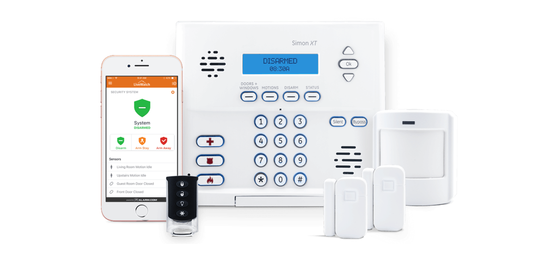 Plug&Protect XT Home Security System