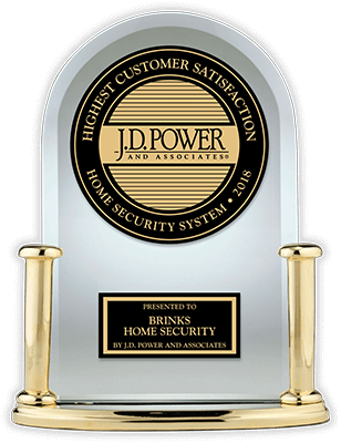 J.D. Power Trophy for Customer Satisfaction with Home Security Systems