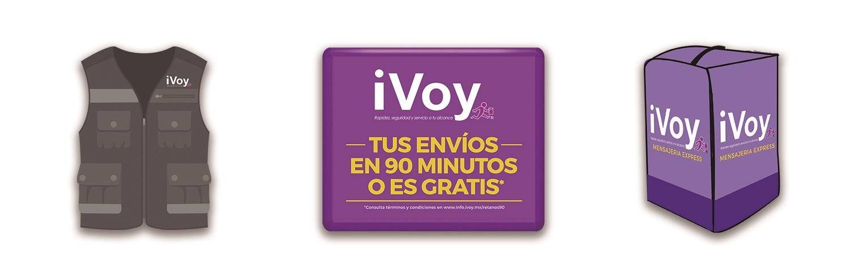 Equipo iVoy para mensajeros con moto
