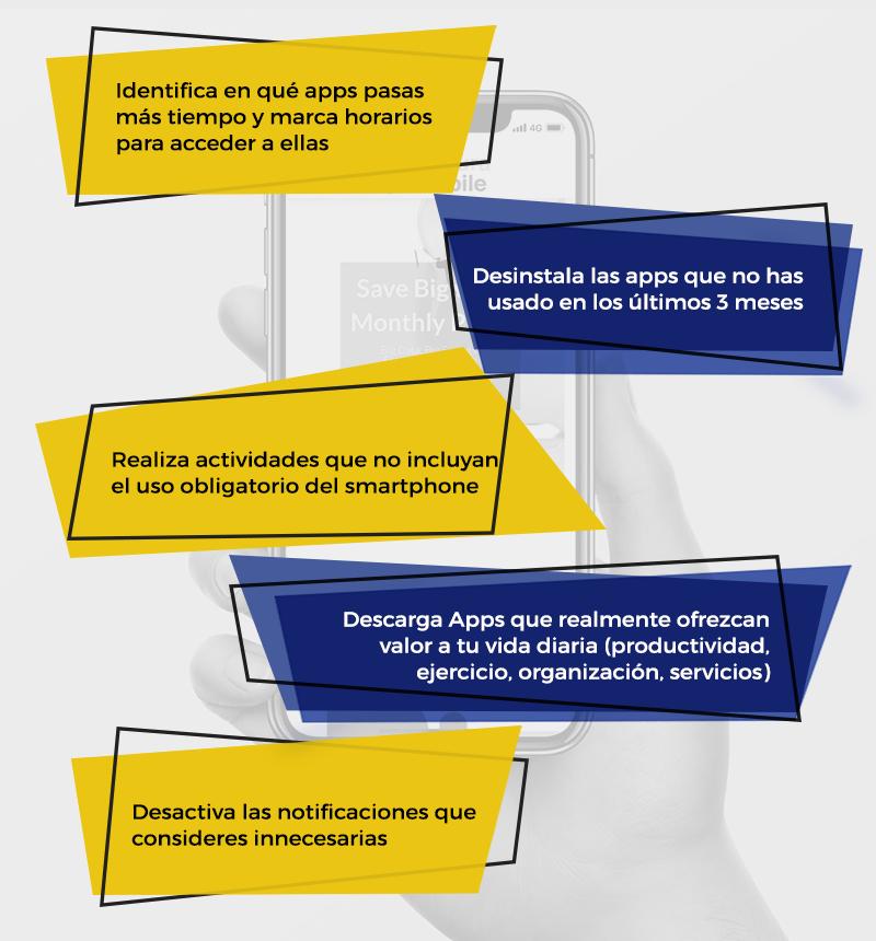 Tips Nomofobia-adicción al teléfono móvil