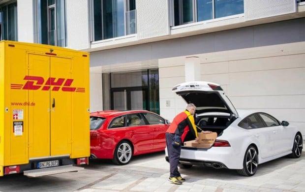 ivoy Amazon entrega cajuela auto