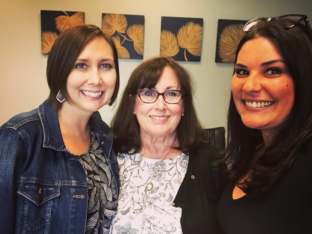The photo with me in the right is with Mary Ann O'Connell founder of FranWise(middle) and Jennifer founder of Tot Squad franchise