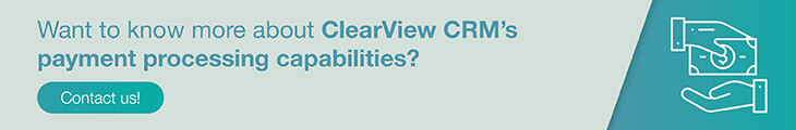 Learn more about how ClearView CRM can help with your nonprofit payment processing strategy.