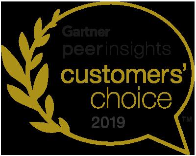 Gartner Peer Insights Customers' Choice 2019