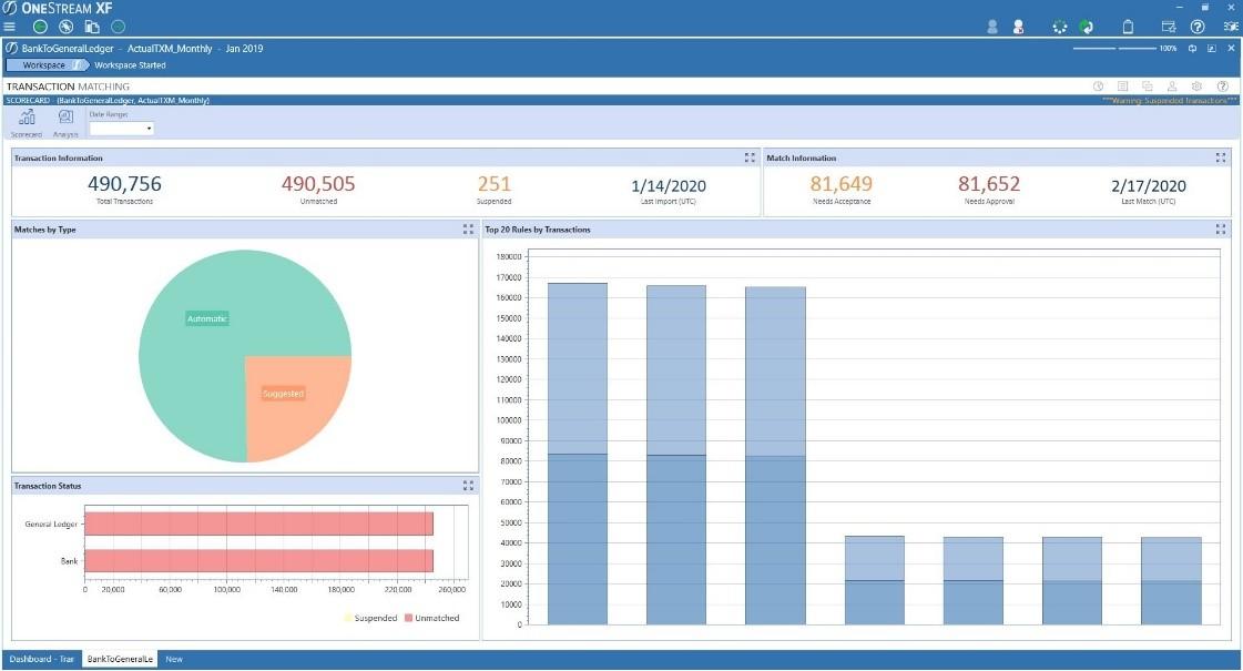 transaction matching screenshot