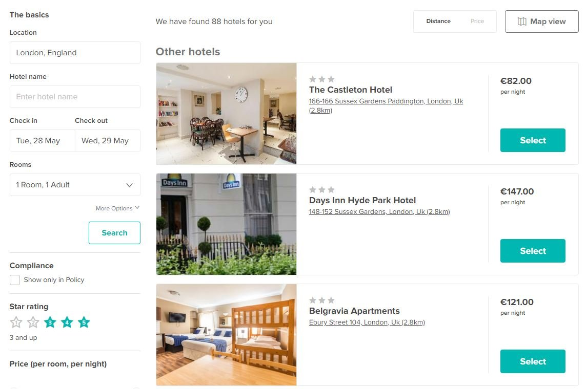 Roomex - Search, book, manage, and pay for all your business hotel