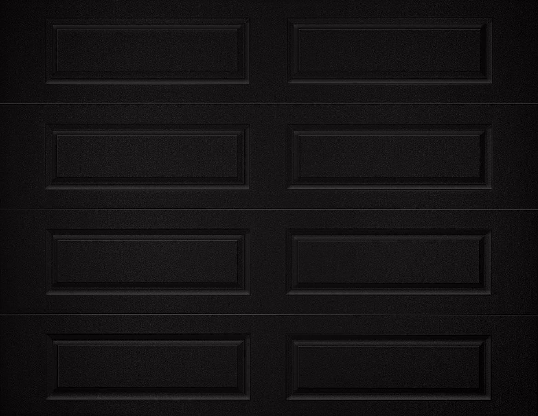 black garage doorRaised Panel  CHI Overhead Doors