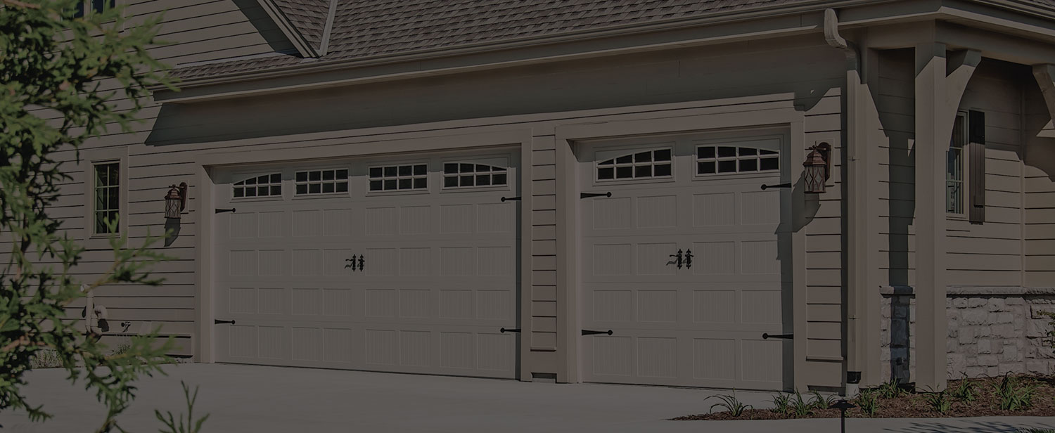 Carriage House Stamped Garage Doors | CHI Overhead Doors