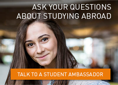 I study abroad to meet new people from different countries