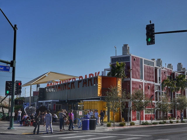 Downtown Project is an urban renewal project in Las Vegas