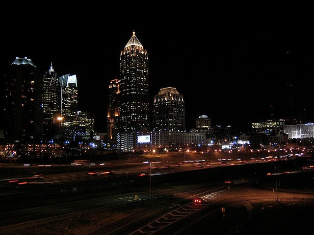 hire a commercial landscape lighting company in Atlanta with experience in design and installation