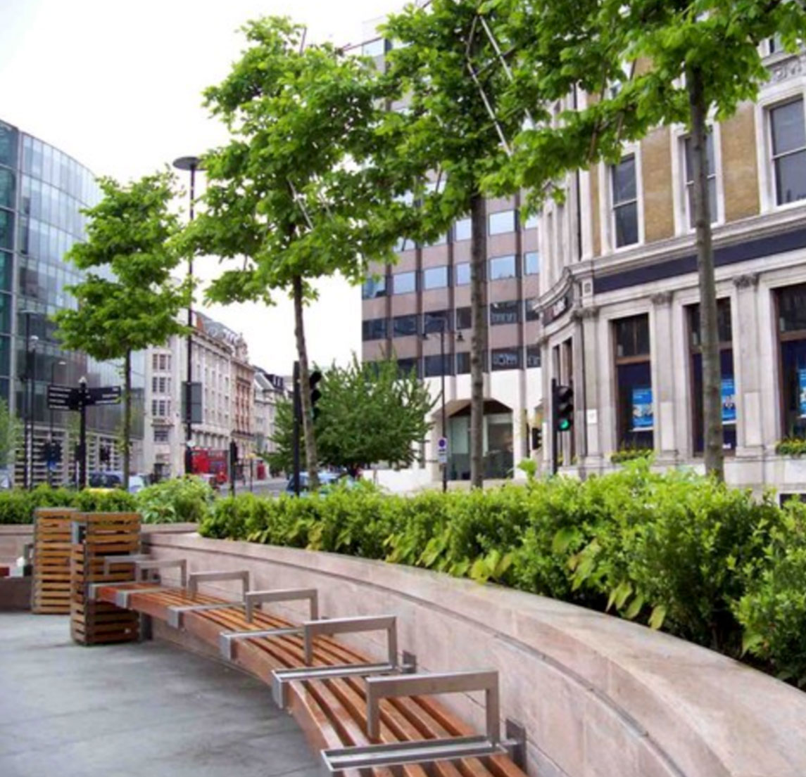 Improve your company culture with outdoor spaces where employees can work or play.