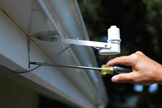 Rain sensors for irrigation systems are designed to interrupt an irrigation cycle during a rain event.