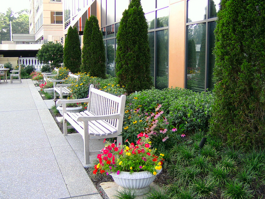 comfortable seating will upgrade any patio into a more inviting space