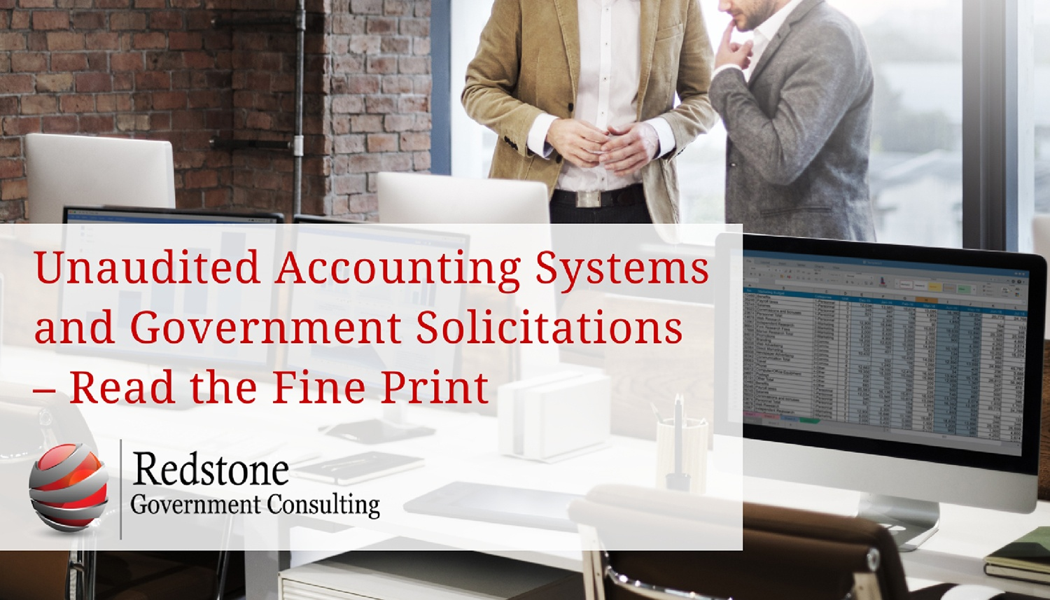 Unaudited Accounting Systems And Government Solicitations Read The Fine Print
