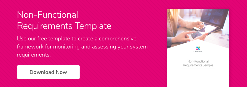 New Download NonFunctional Requirements Template - Functional requirements template
