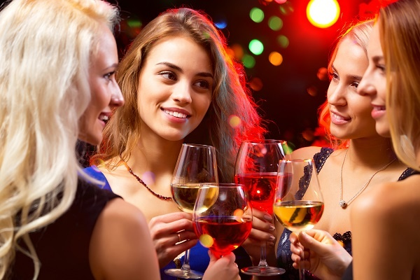 Gatemaster exclusive event ladies drinking wine.jpg