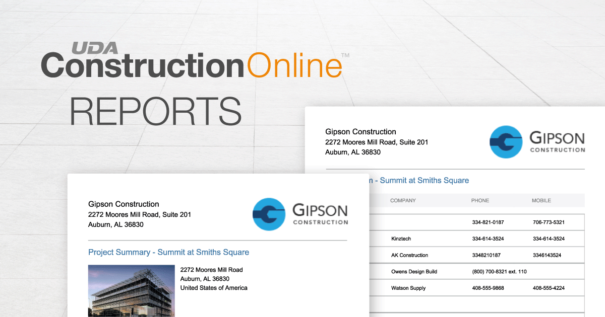 Now Available in ConstructionOnline™ 2019: New Project