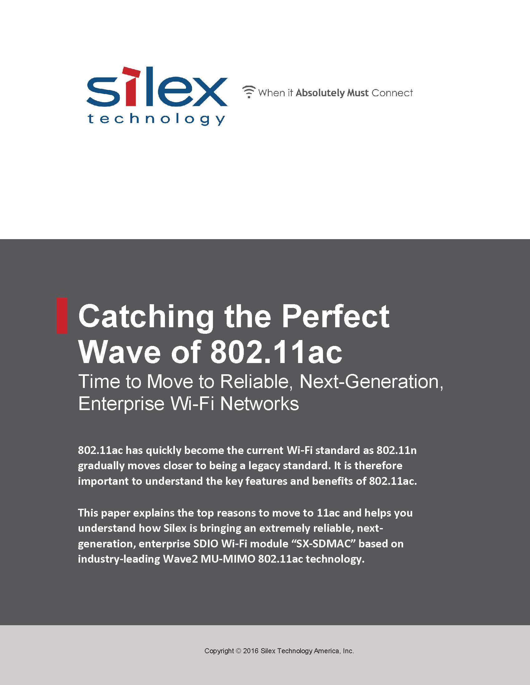 Catching the Perfect Wave of 802.11ac