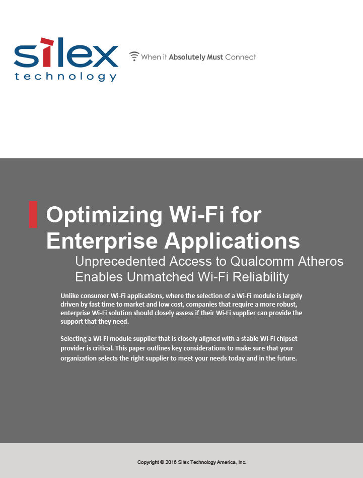 Unprecedented Access to Qualcomm Atheros Enables Unmatched Wi-Fi Reliability - AMC White Paper