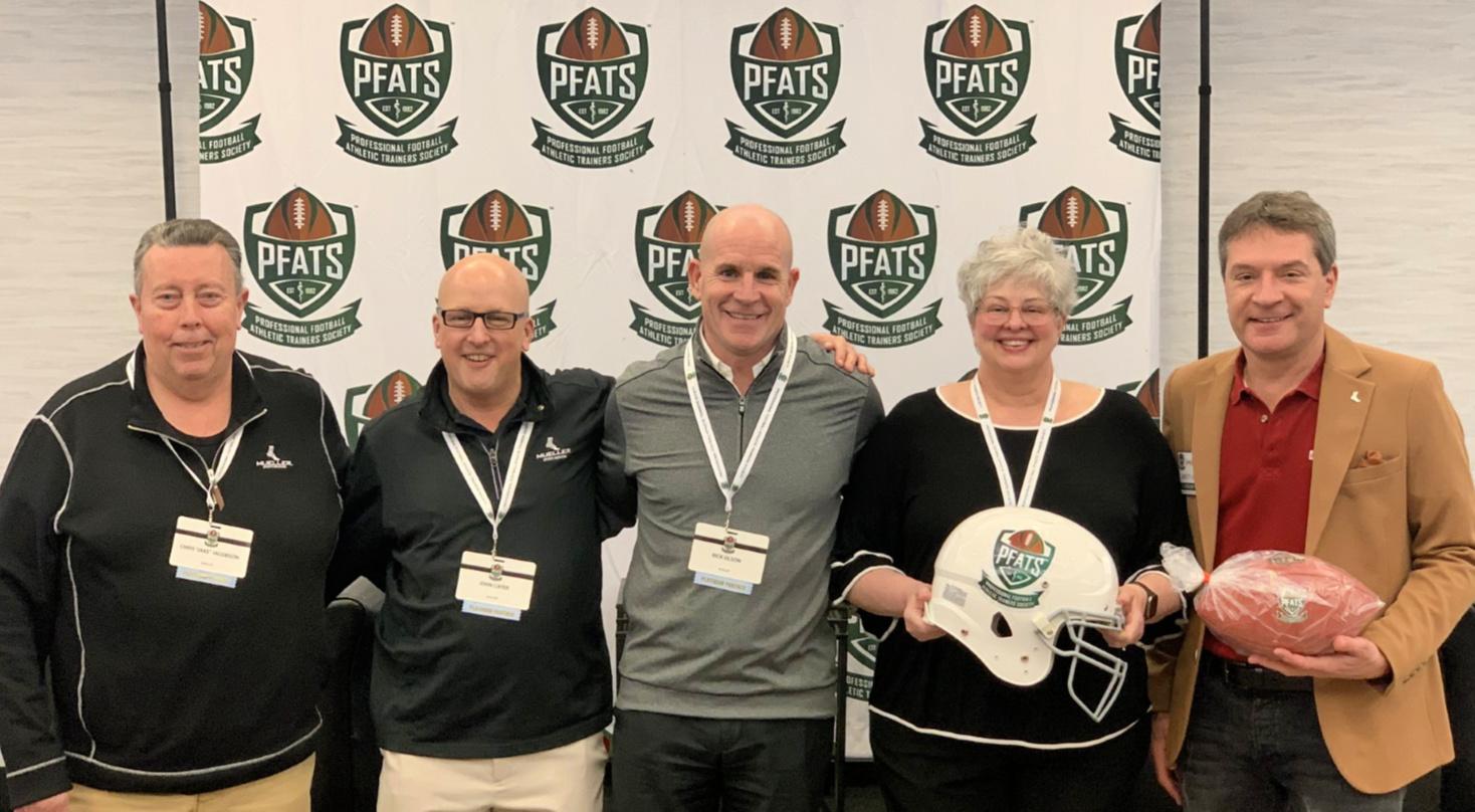 Mueller Sports Medicine Recognized asaPlatinumPartnerfortheProfessional Football Athletic Trainers Society