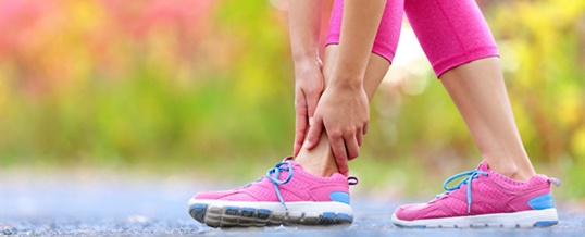 don't fret you can treat that ankle injury and keep it moving!