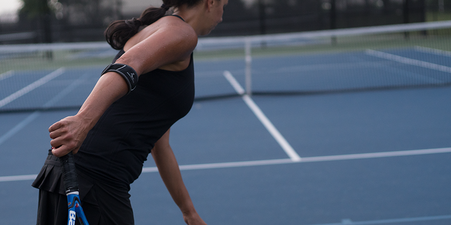 a tennis elbow treatment that allows you to perservere